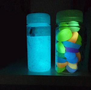 Deko aus lumentics-Lichtspeicher